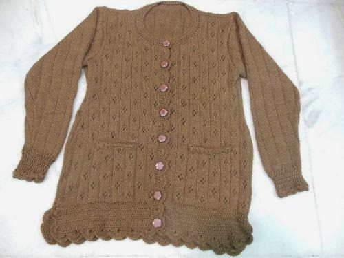 Handmade Baby Sweaters: Ladies Sweater and cardigans