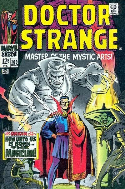 Portada de Doctor Strange 169