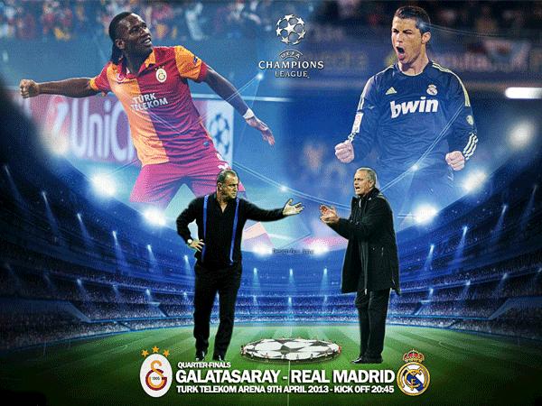 Keputusan Liga Juara-Juara Eropah 10 April 2013 - Galatasaray va Real Madrid