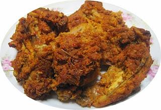 Ayam Bakar Bumbu Khas Padang