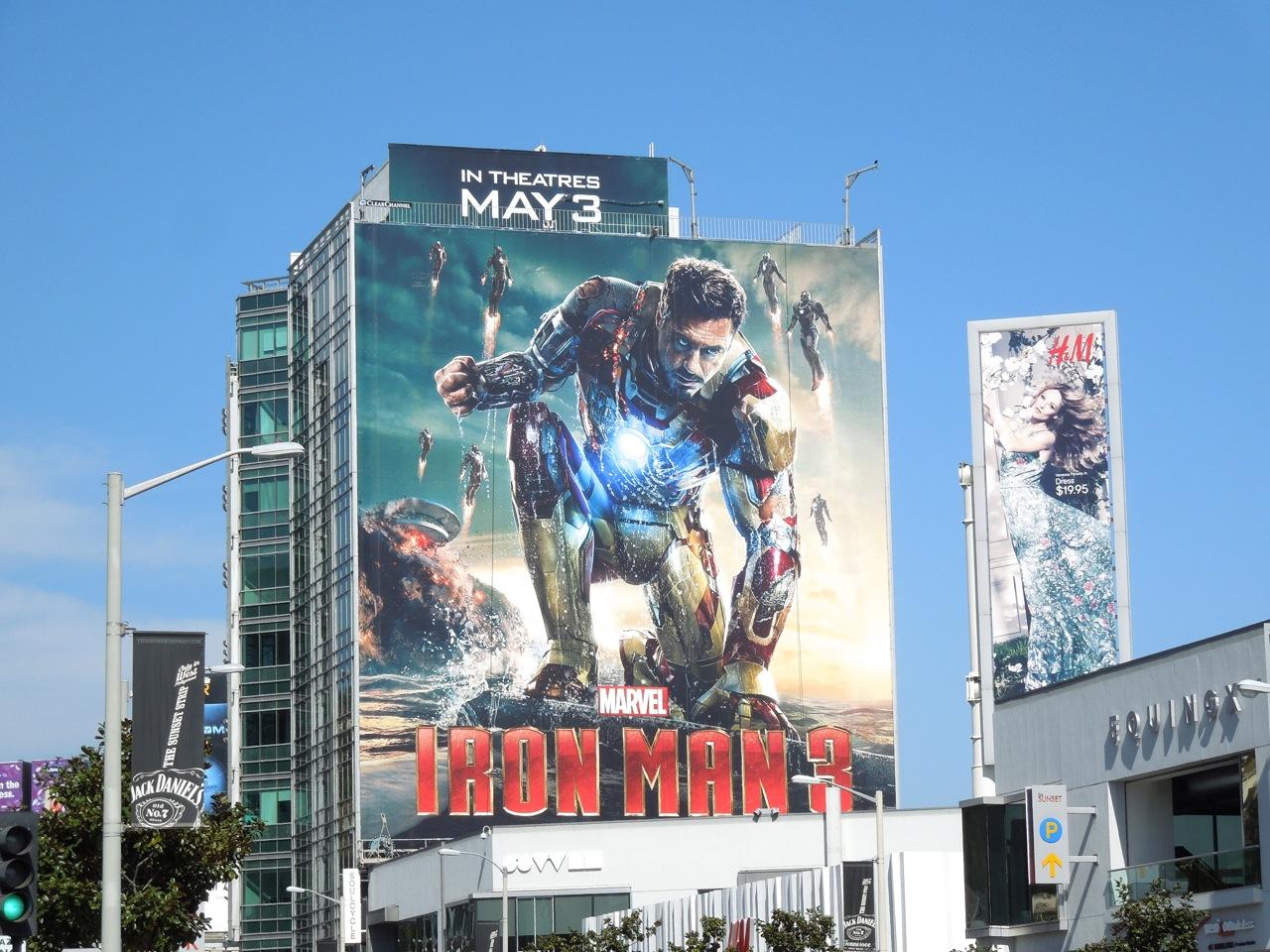 Daily Billboard: Iron Man 3 movie billboards ...