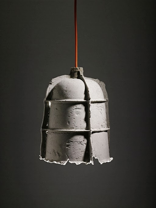 des lampes en b ton caract rielle. Black Bedroom Furniture Sets. Home Design Ideas