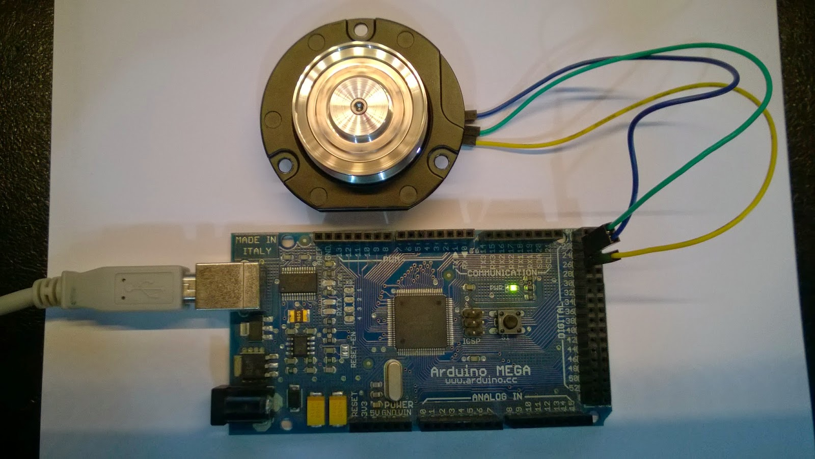 Button arduino function