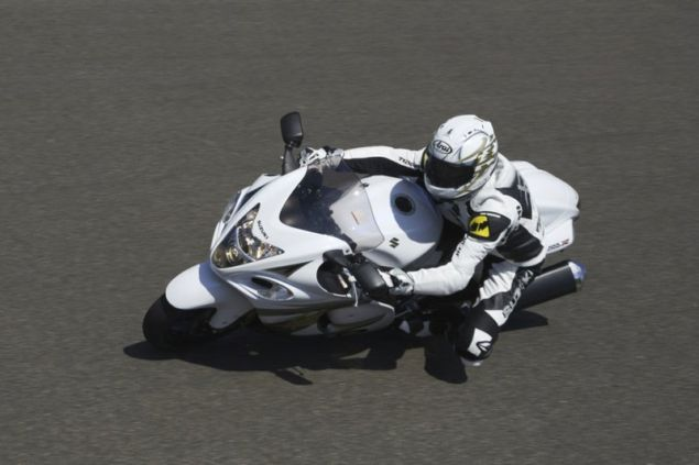 anti lock brake system as standard suzuki hayabusa using bridgestone