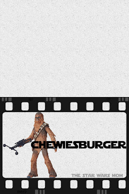 Star Wars Chewbacca Cheeseburgers Chewiesburgers Free Printable Party Food Label