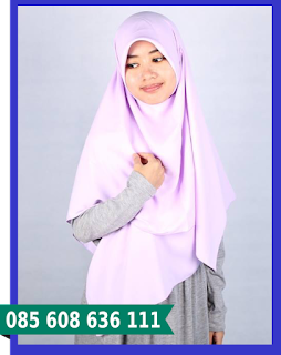 hijab segi empat turban