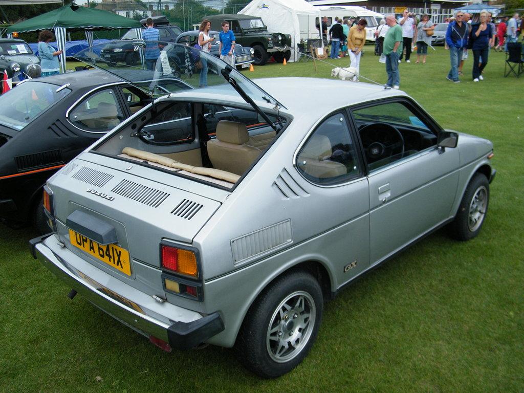 Suzuki SC100, Whizzkid, stare samochody, małe auta z lat 80