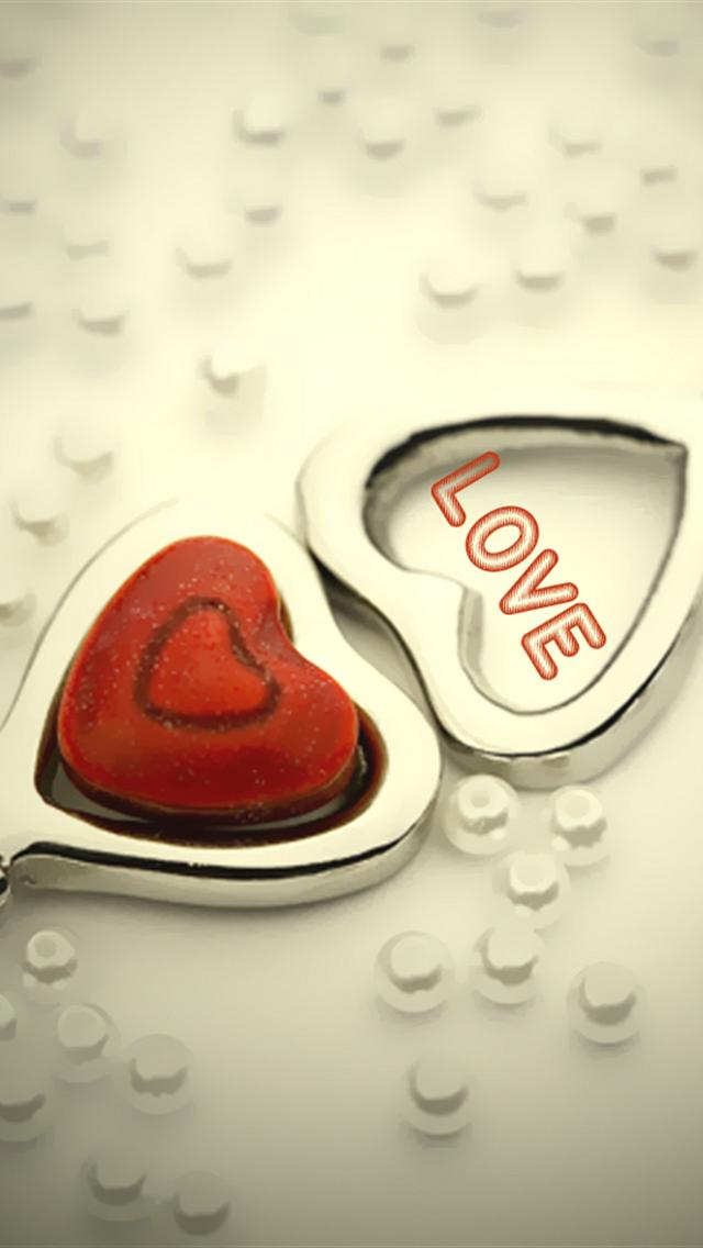 Love Heart Wallpaper Iphone : iphone 5 wallpapers hd: cute love heart iphone 5 wallpapers hd