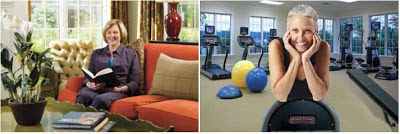 Residents' Clubhouse at Athertyn Interior Fitness Center