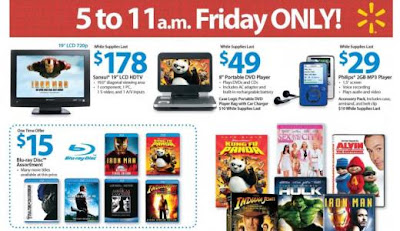 Walmart Deals for Black Friday 2011