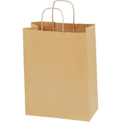 bolsa de papel Kraft para regalo boda - Keke