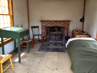 Thoreau's Cabin at Walden Pond