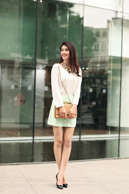 Bộ ảnh được thực hiện với sự hỗ trợ của Photo: Thanh Phong; Model: Huỳnh Ý Nhi.