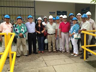 Los rectores de Cartagena Co visitan el centro de Formación para el Empleo