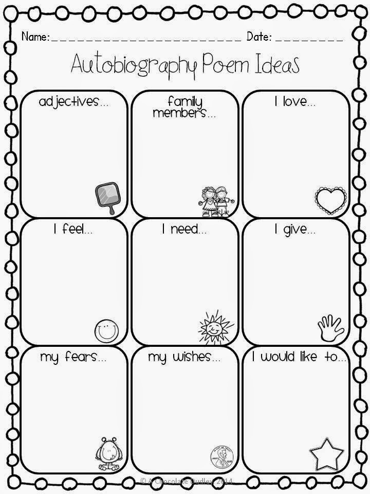 http://www.teacherspayteachers.com/Product/All-About-Me-Autobiography-Poem-Example-Graphic-Organizer-1238865