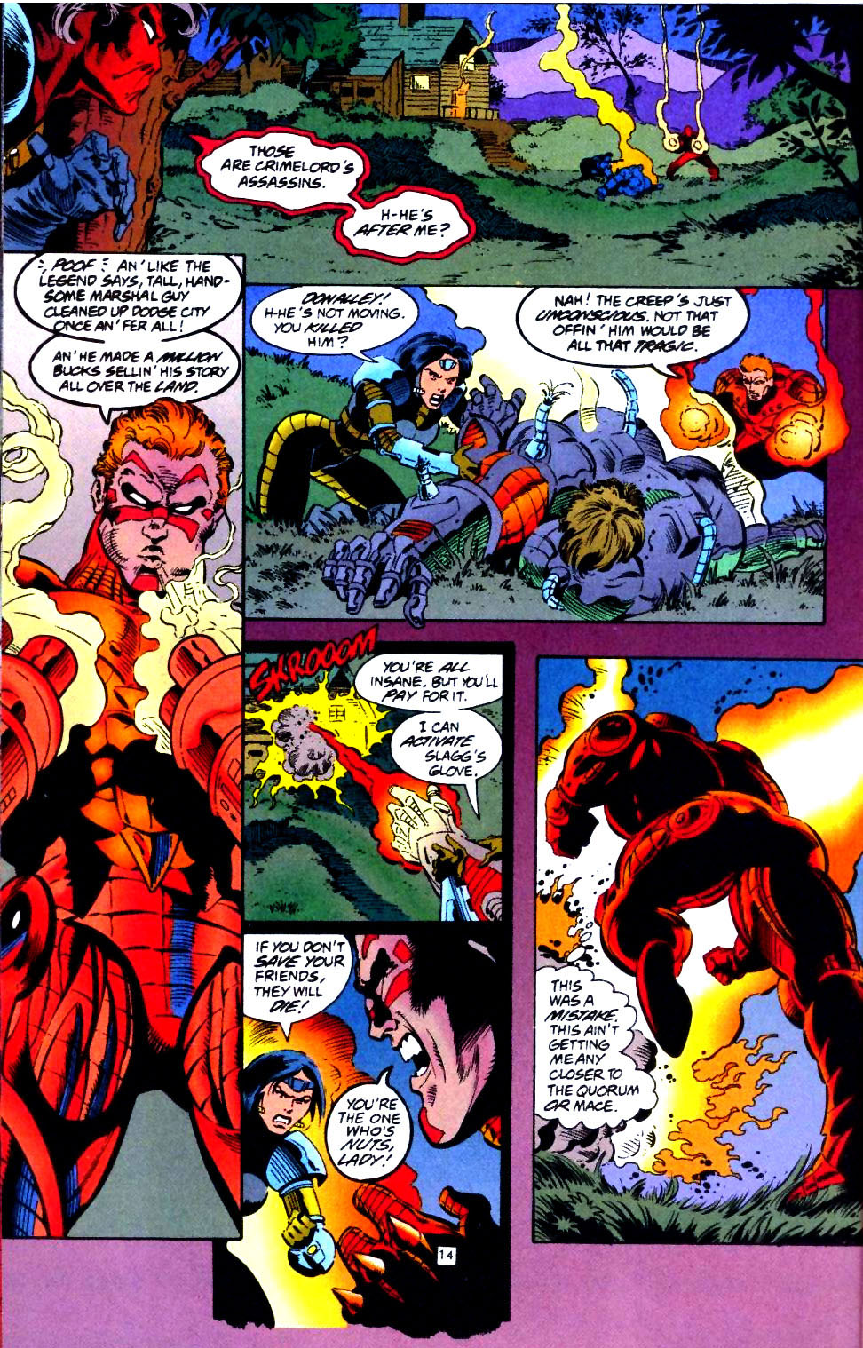 Deathstroke (1991) Issue #44 #49 - English 15