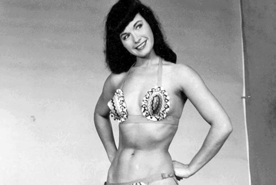 Today bettie page