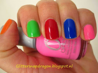 Rainbow Polishes, Orly, Koh, Essie, Zoya, H&M, Sation, Collistar, Sinful Colours
