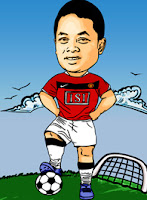 Manchester United caricature