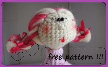 Crochet doll - free pattern !!!