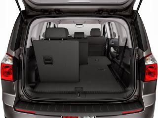 Chevrolet Orlando imagine capacitate de incaracare