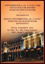 Afişul oficial al manifestărilor ştiinţifice, Zilele Universităţii...