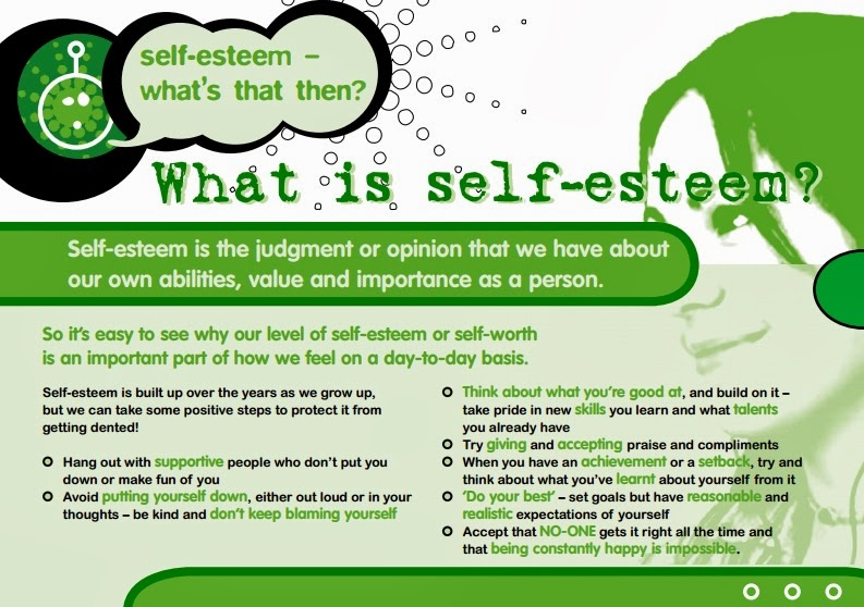 Low self esteem teenagers