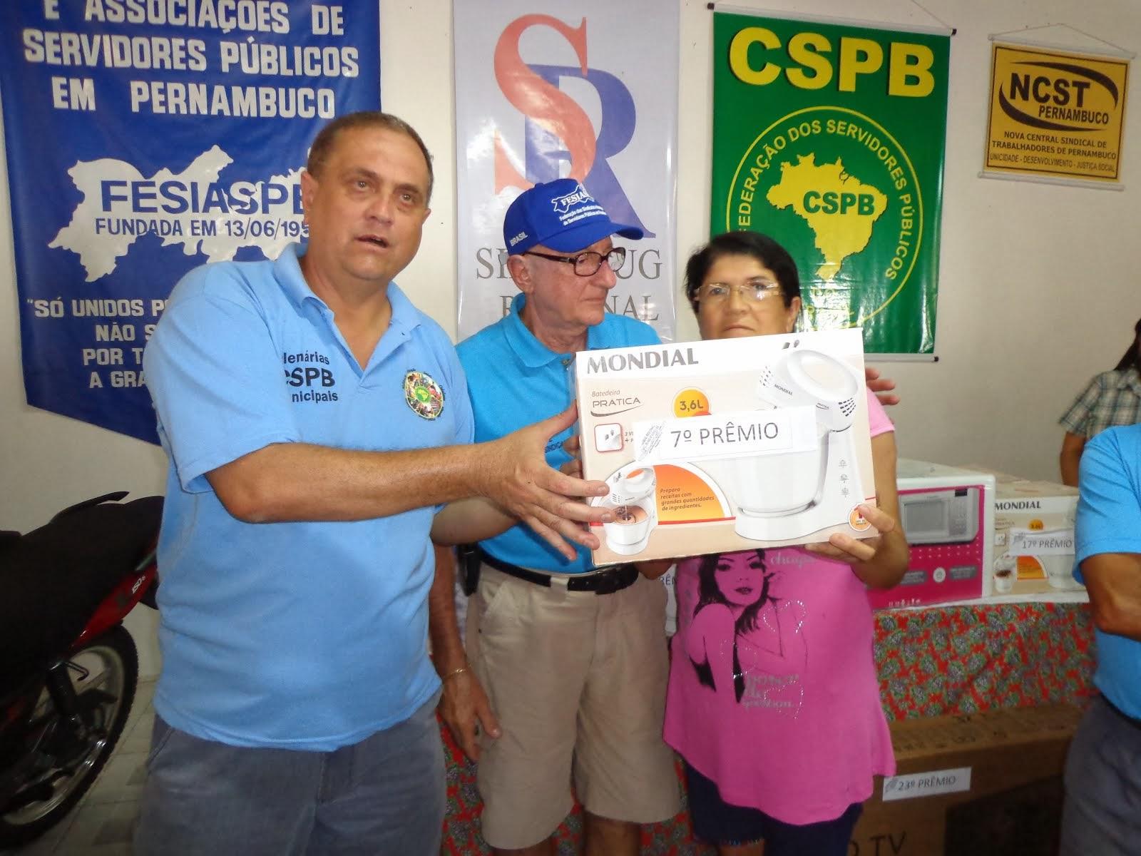 GANHADOR 7º PRÊMIO FESTA DO SERVIDO EM 2013
