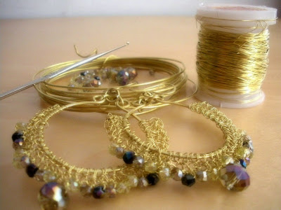 Radionica nakita od kukičane žice - Wire Crochet Jewelry Classes