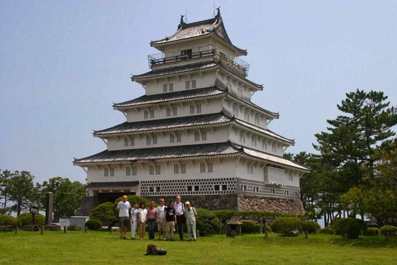 Atual castelo de Shimabara que alberga o Museu