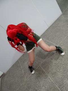 Leona Orochi cosplay