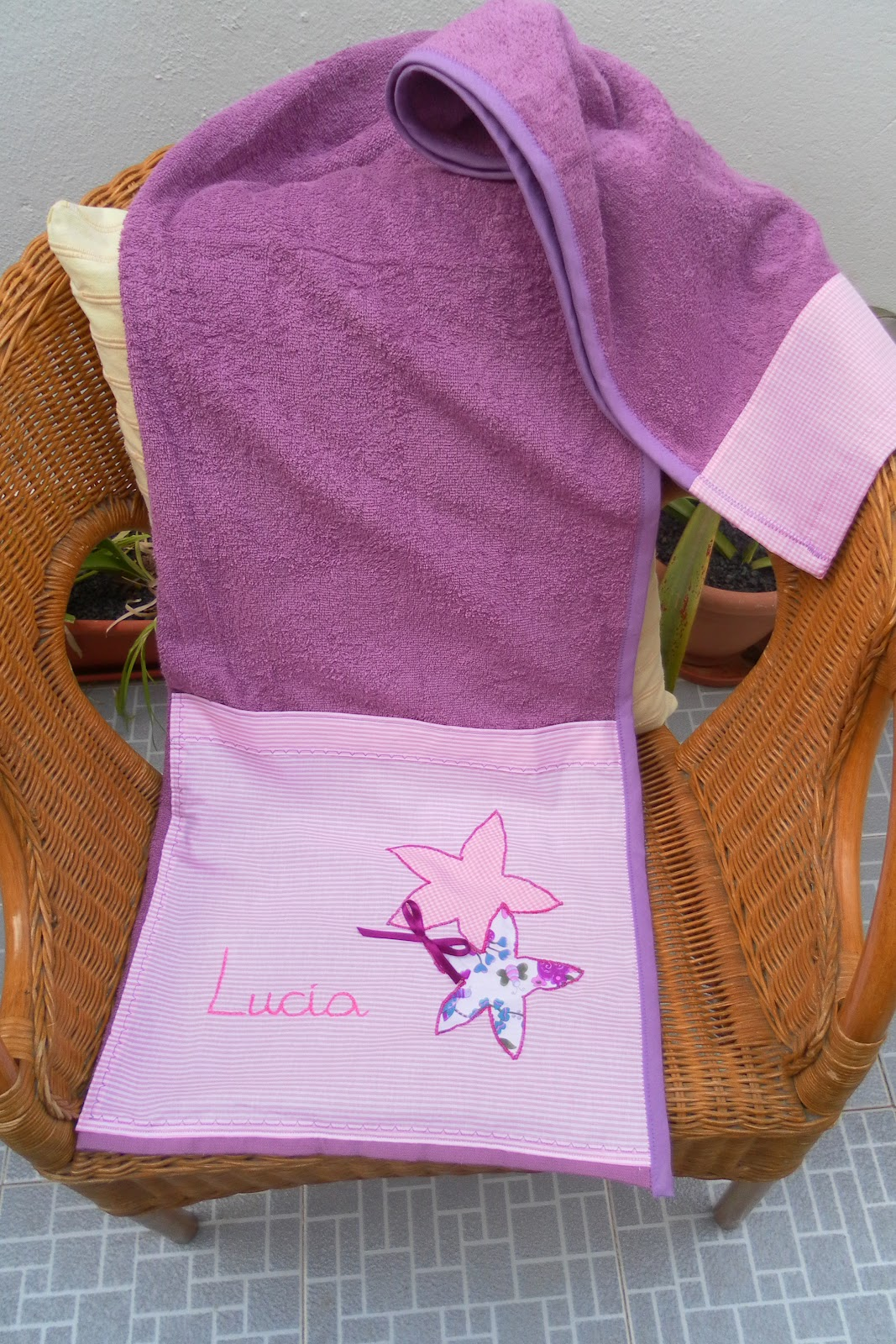 Toallas personalizadas para ni os imagui - Toallas infantiles personalizadas ...
