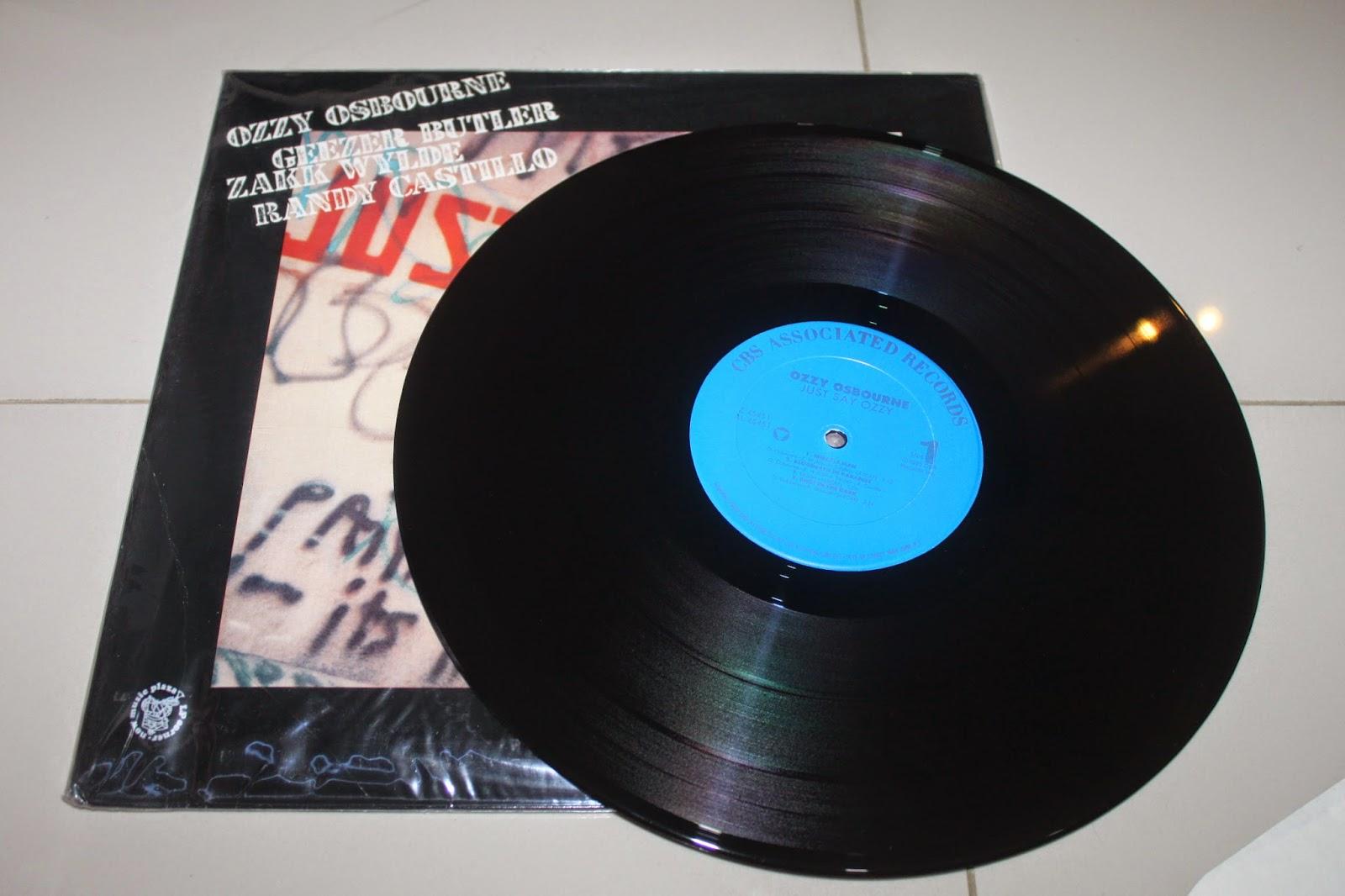 OZZY OSBOURNE - JUST SAY OZZYOzzy Osbourne Just Say Ozzy