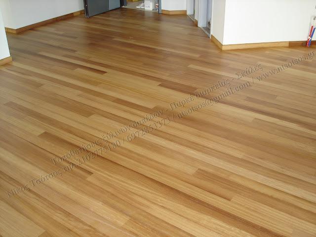 Συντήρηση ξύλινων δαπέδων με οικολογικό βερνίκι σατινέ