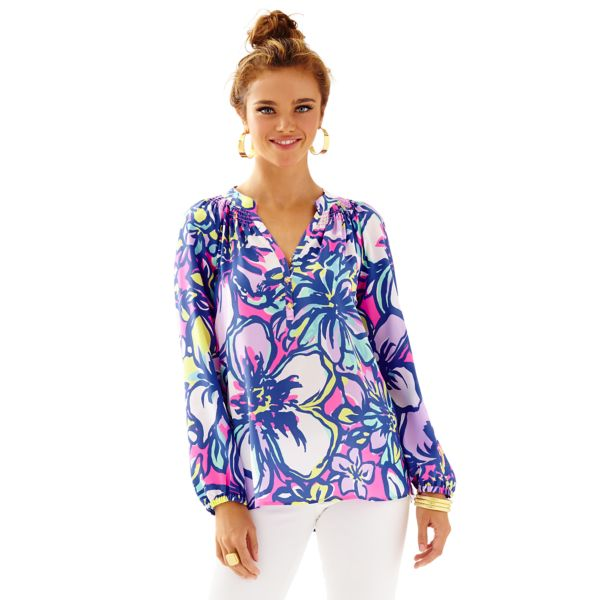 lilly pulitzer elsa top catwalkin teacher appropriate wear to work