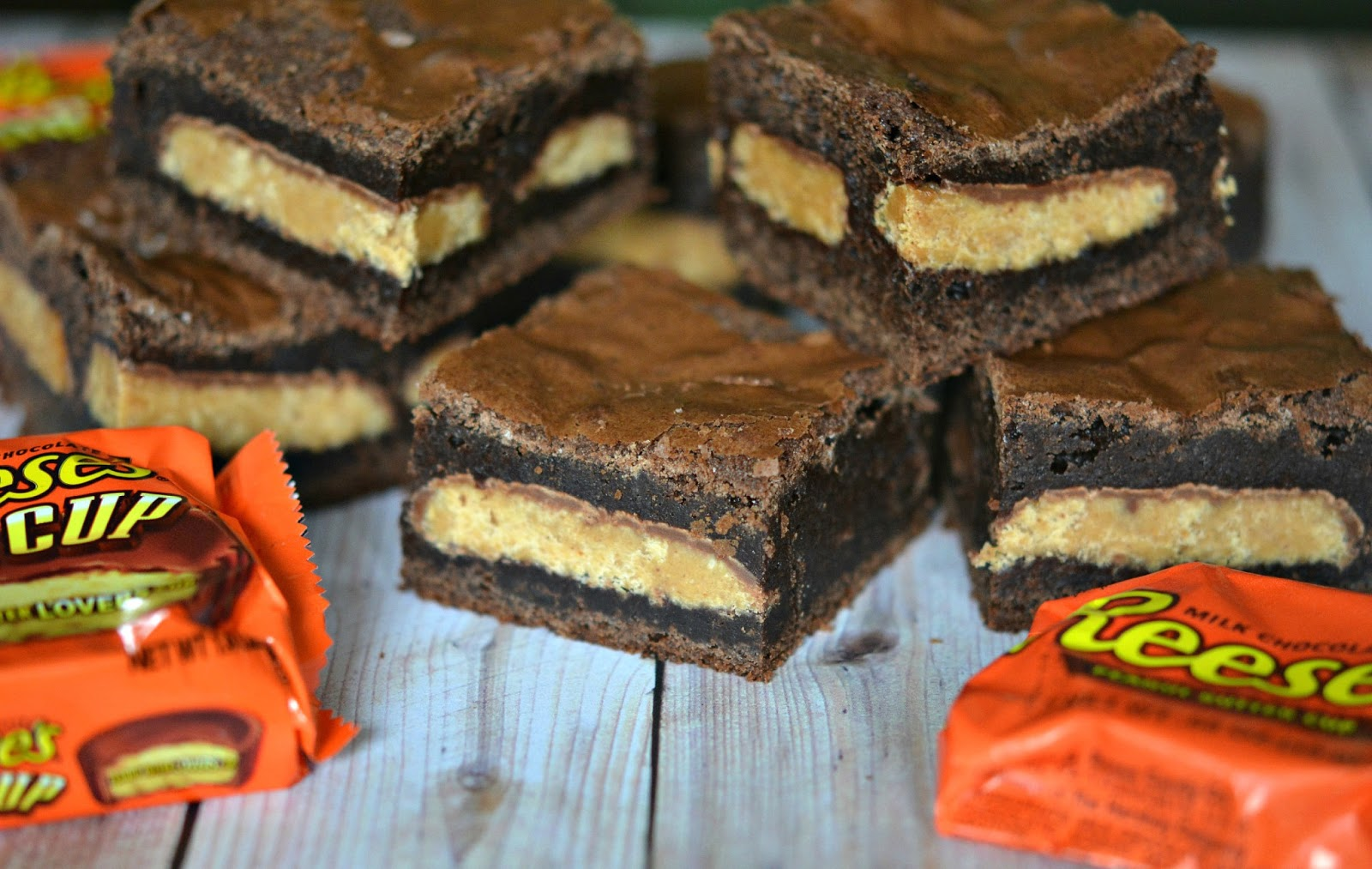 ... STUFFED WITH REESE'S PEANUT BUTTER CUPS! - Hugs and Cookies XOXO