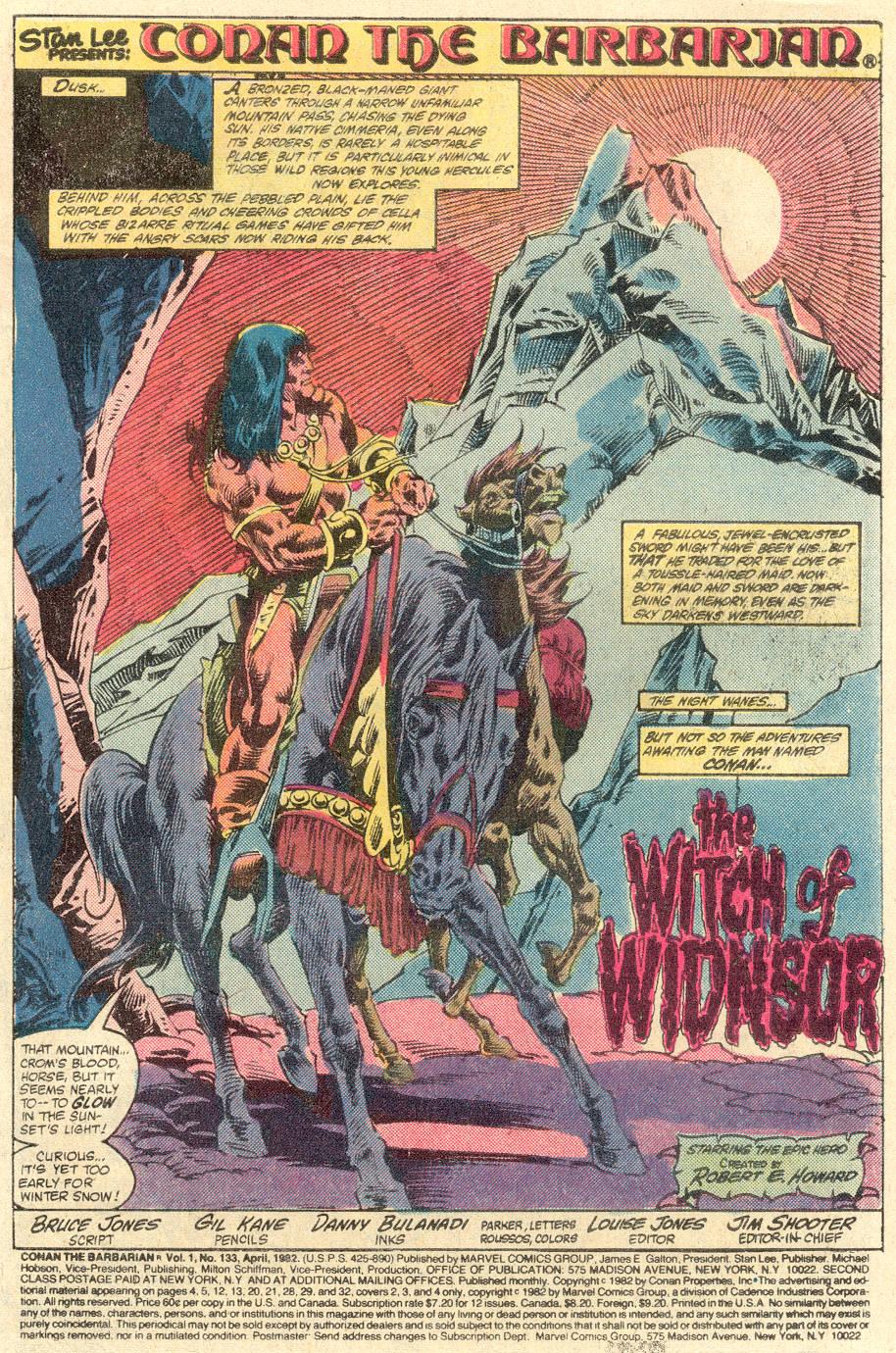 Conan the Barbarian (1970) Issue #133 #145 - English 2