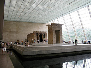 """Om to play """"At Giza"""" a Temple of Dendur Ruins at the Metropolitan Museum of Art in New York"""
