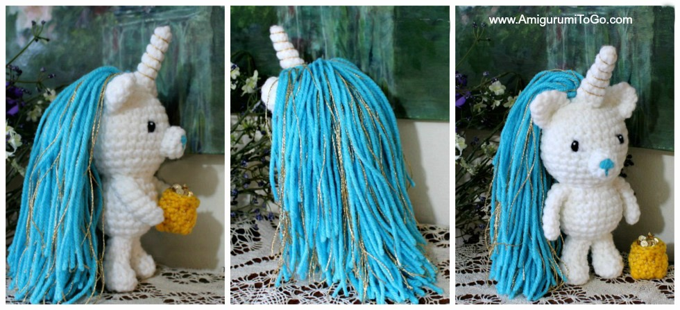 Wee Unicorn Free Crochet Pattern ~ Amigurumi To Go