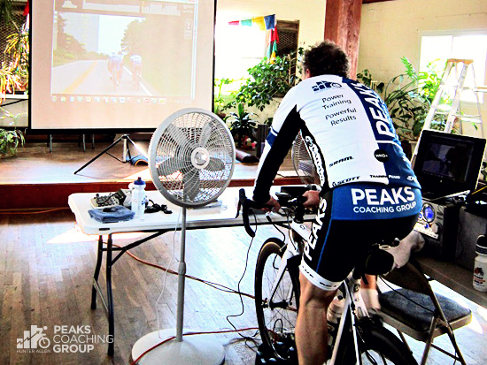How to Set Up Indoor Trainer for Virtual Training - Peaks Coaching Group