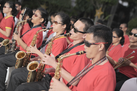 Davao School and Rehabilitation for the Visually Impaired Band, Marco Polo Davao