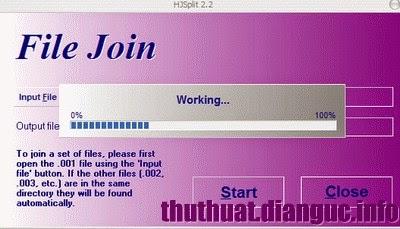 Dowload Phần mềm nối file .001, .002 – HJ Split mới nhất