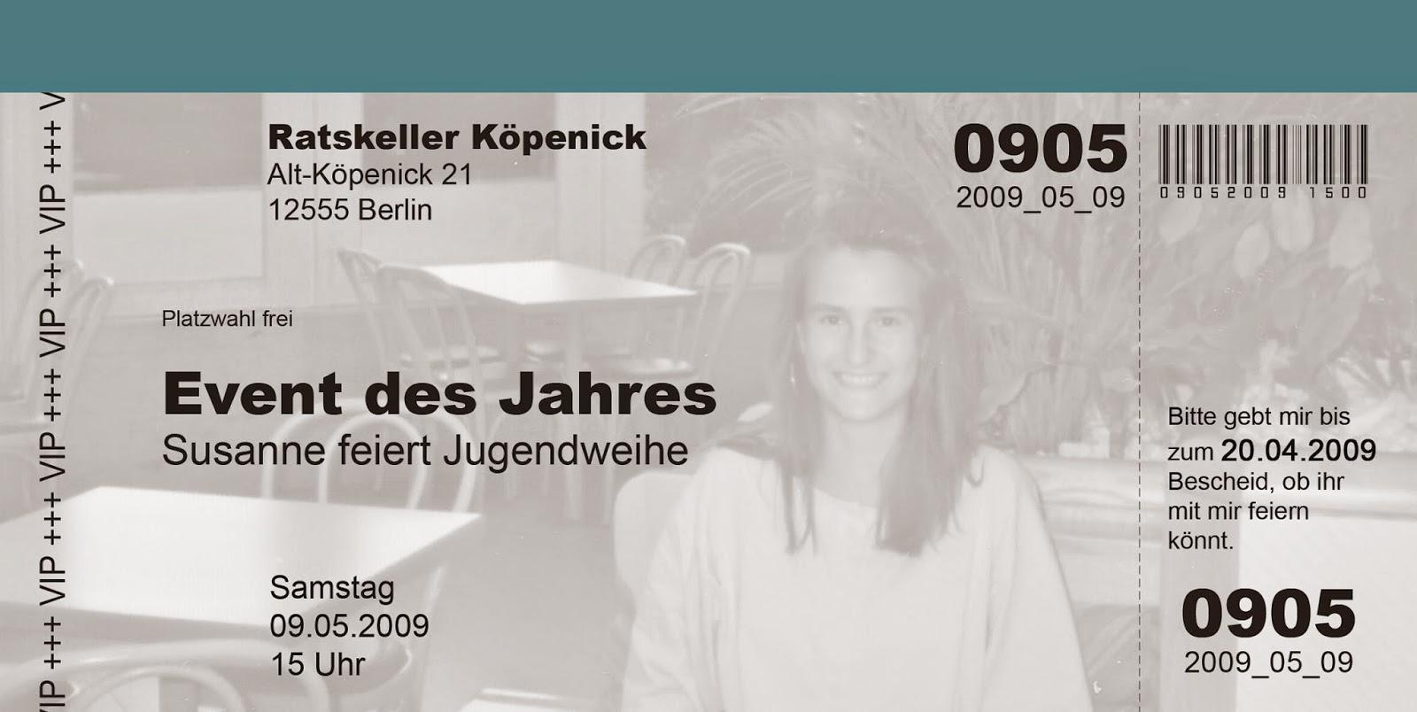 neues von kartendesign berlin: eine kreative einladungskarte zur, Einladung