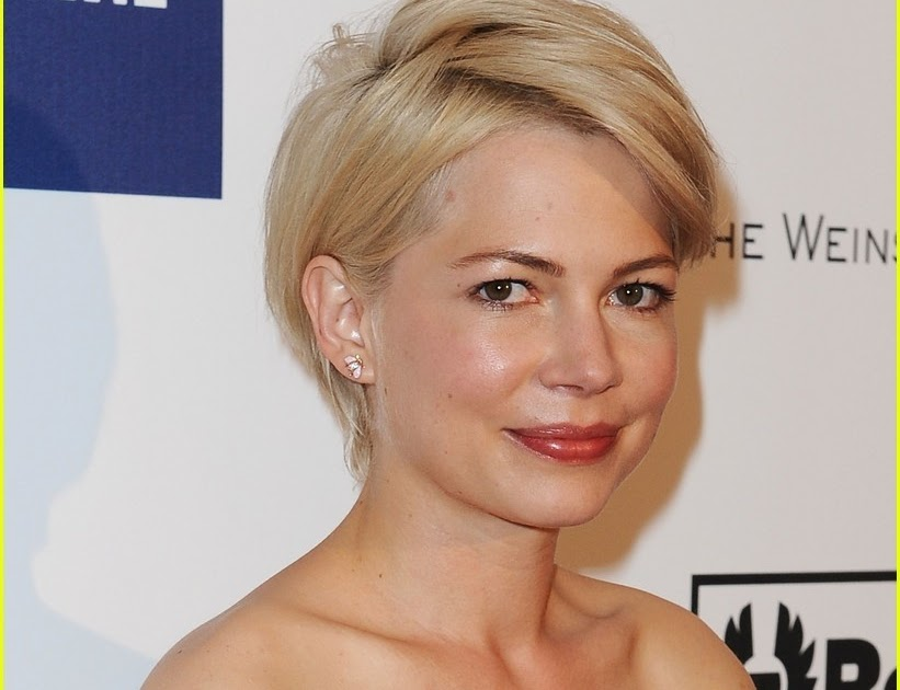 short hairstyles 2014 celebrity michelle williams short