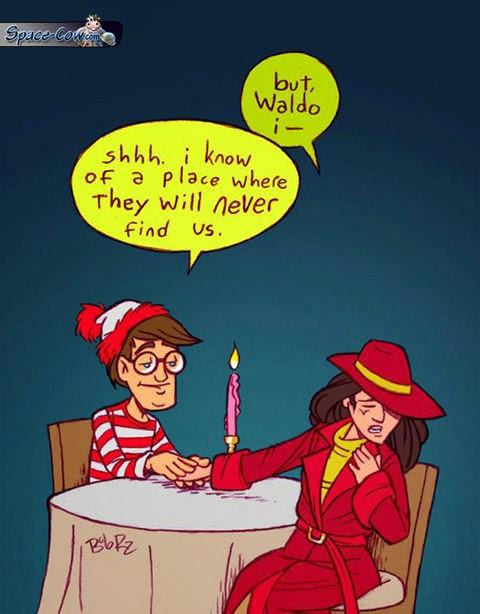 funny comics Waldo picture