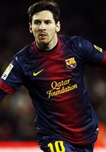 Mejor Futbolista del Año MFA+2012+Lionel+Messi