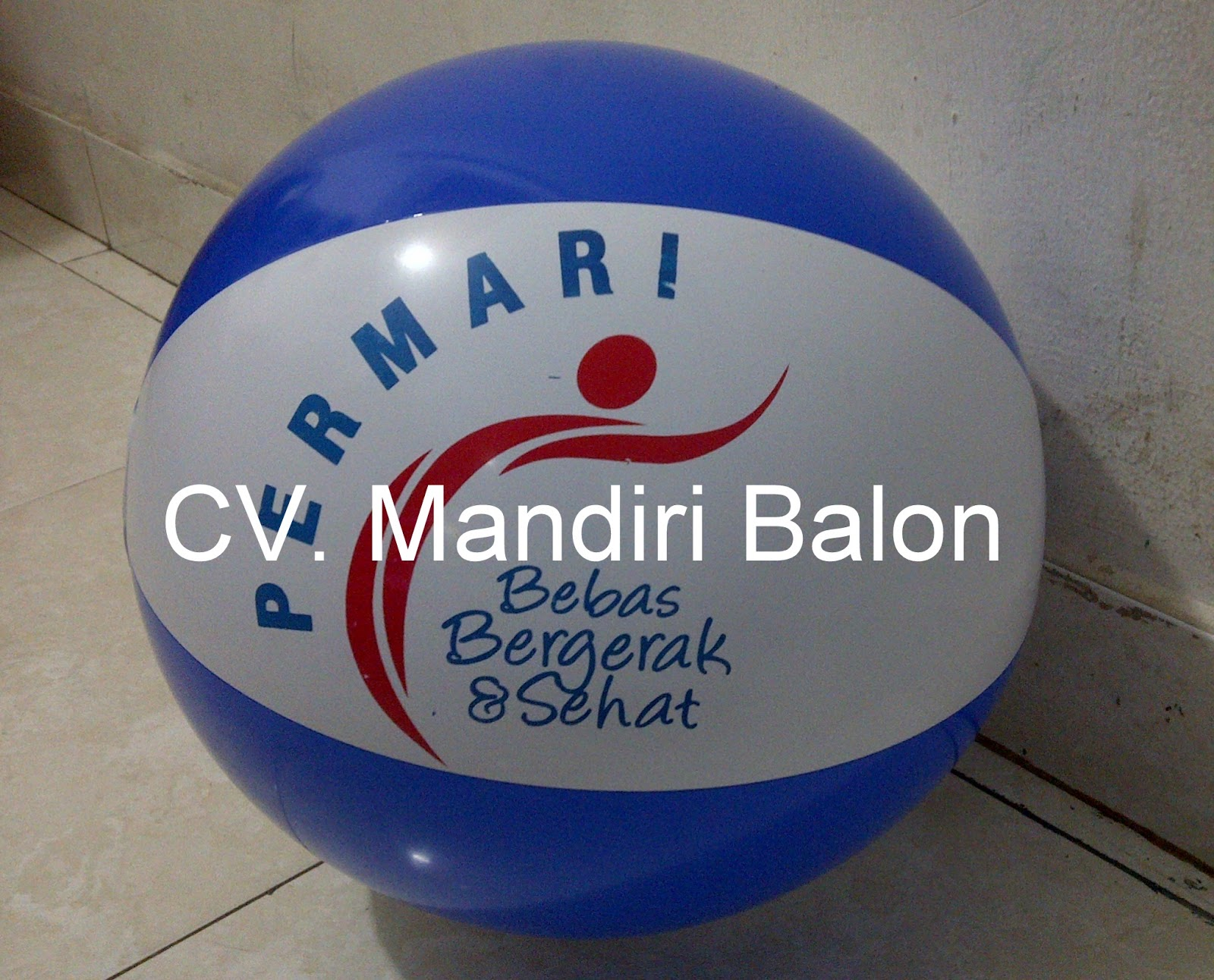 Balon Bola  Pantai Permari