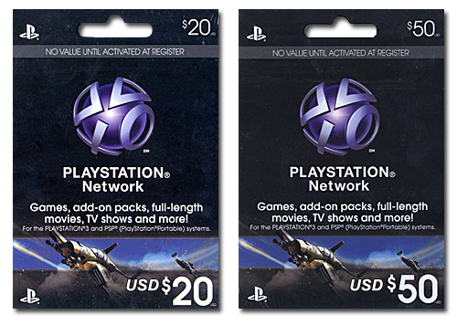 Example Of A PSN Card via DL-Central.Net!