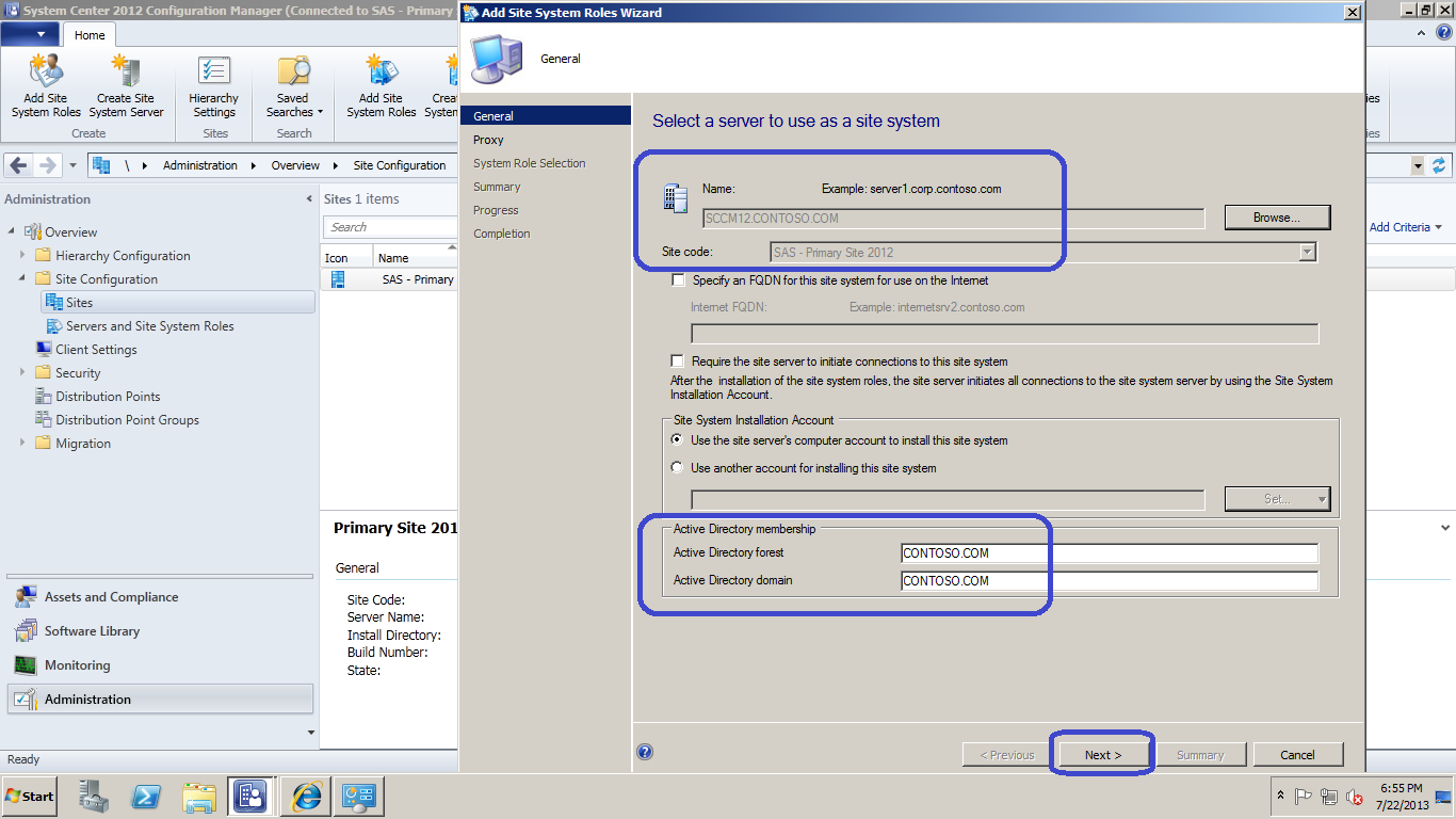 a explain the role installation and configuration How you install exchange server 2007 depends on the number of exchange servers that you need to deploy if you are installing only a few exchange servers lesson 2: configuring exchange server roles next.