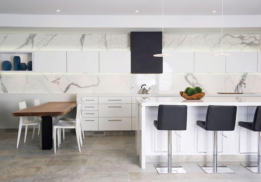 Cocina moderna for Cocinas blancas modernas 2016